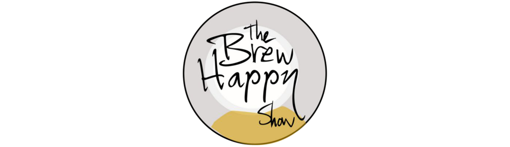 Logo for The Brew Happy Show